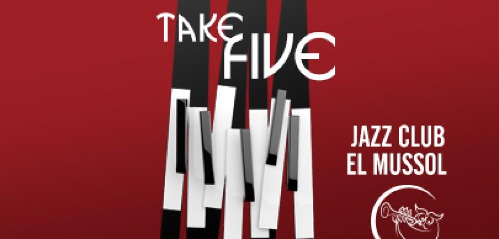 <div class='banner_marca'></div><div class='banner_title'>Take five</div><div class='banner_content'>'Take a Five' és el títol de l'exposició que alberga Fundación Mutua Levante</div>
