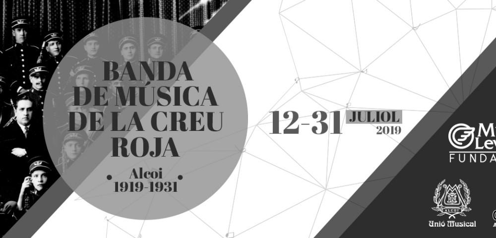 <div class='banner_marca'></div><div class='banner_title'>Banda de música de la Creu Roja (Alcoi 1919 – 1931)</div><div class='banner_content'>Una nova exposició a la Sala Fundacion Mutua Levante</div>