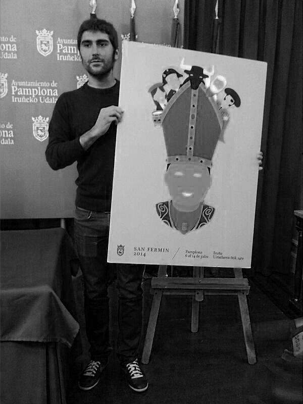 Un cartel de Ignacio Doménech anunciará los Sanfermines de 2014