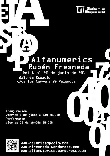 'Alfanumèrics': Cuando los números hablan