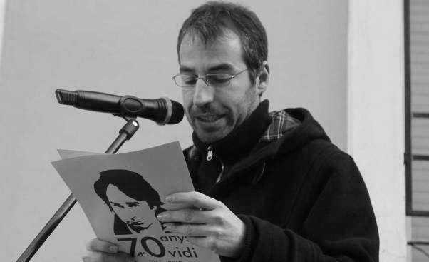 """El Teatre Principal acull la presentació del llibre """"Ovidi Montllor. Un obrer de la paraula"""" de Jordi Tormo"""