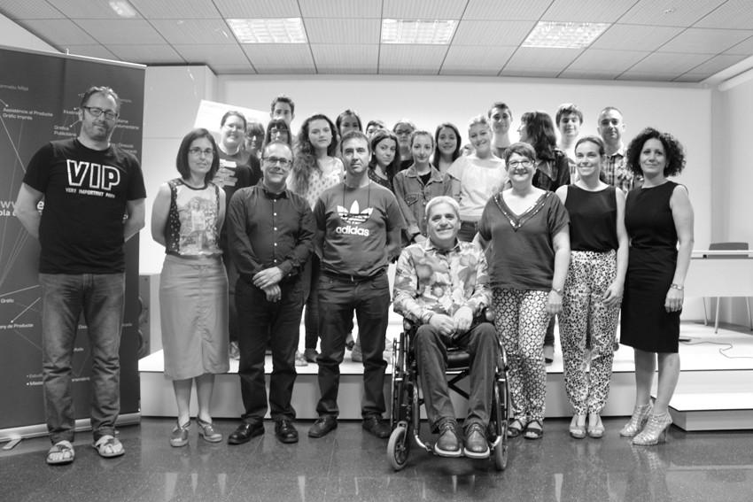 Entrega dels premis Mapelor als alumnes de l'Escola d'Art