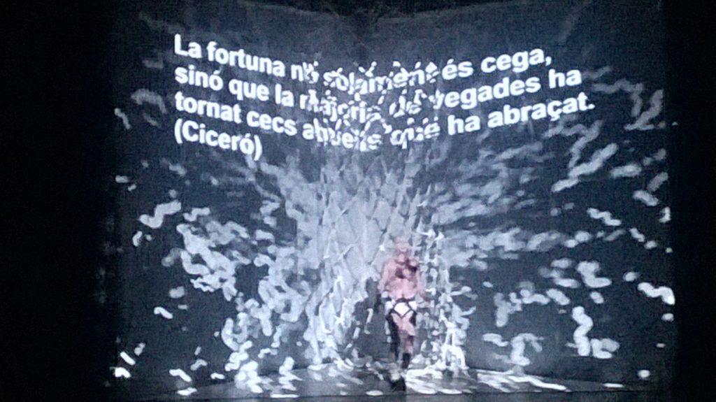 TEMPTAC1ONS, un show íntimo de La Fura dels Baus