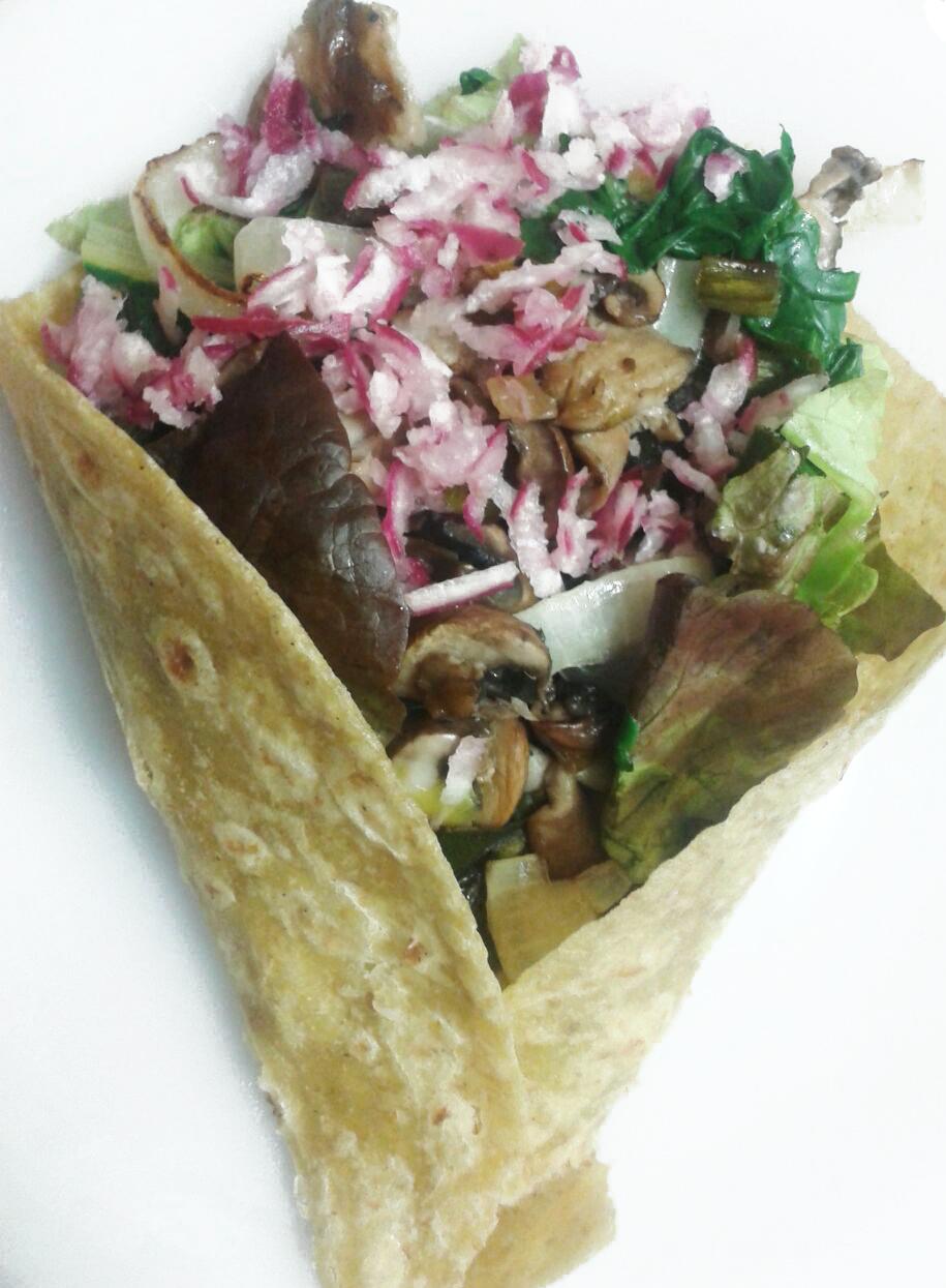 Burrito de verdura