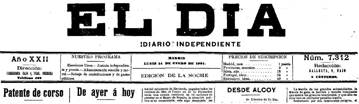 Alcoi: estampes i opinions a l'inici del segle XX