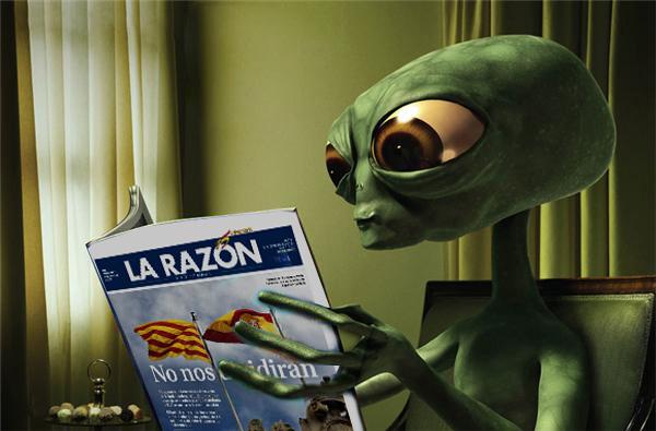 Descubren vida extraterrestre en unas dependencias del Ayuntamiento de Alcoi
