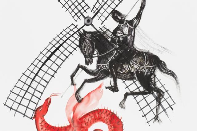 El Quixot i Sant Jordi