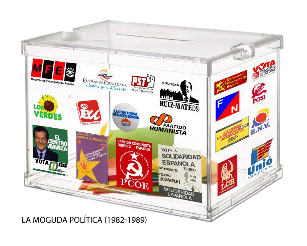 Menúncies electorals (II): La moguda política (1982-1989)