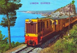Spain - Costa Blanca, Limon Express