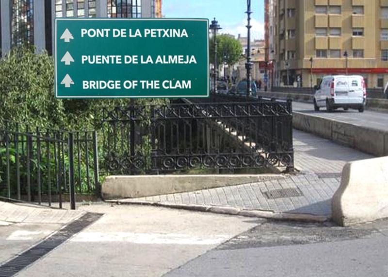 El ministerio de Turismo traducirá al inglés y al castellano los topónimos escritos en valenciano para favorecer la comprensión lectora de turistas nacionales y extranjeros
