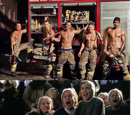 El envejecimiento de la plantilla de los bomberos de La Montaña  provoca una ola de terror pánico entre la población femenina