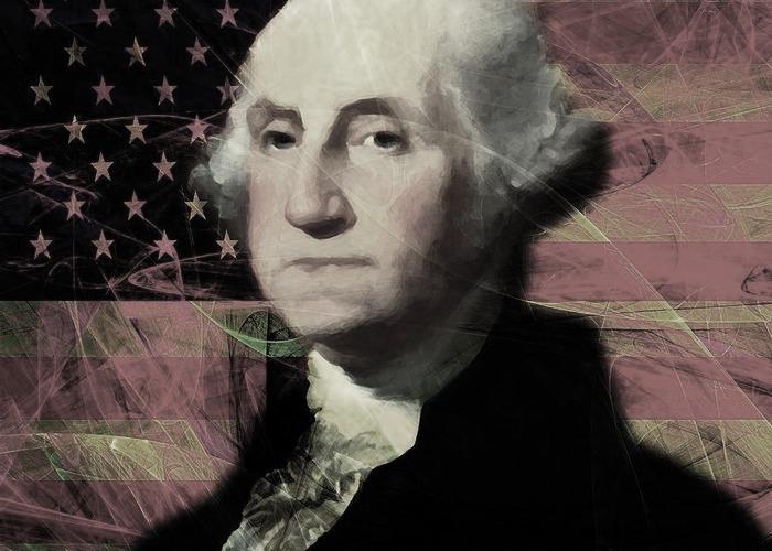 Draps alcoians a les tropes de George Washington
