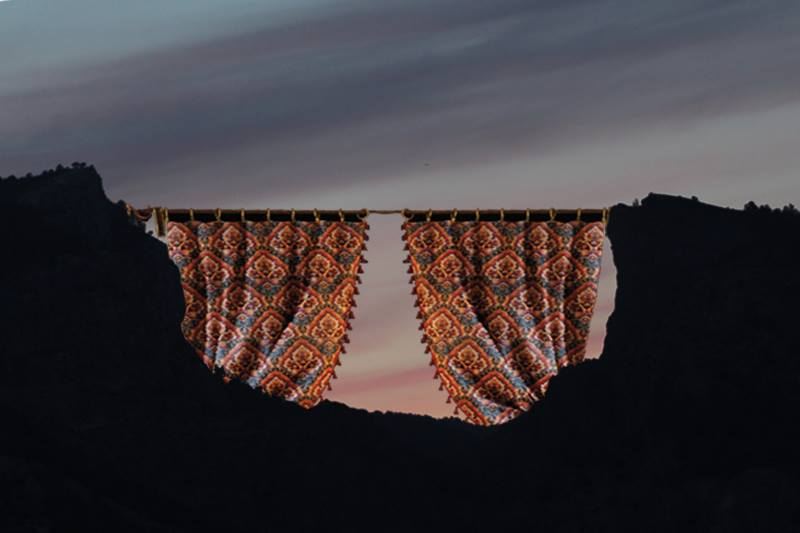 El Ayuntamiento de Alcoy instalará en el Barranc del Sinc unas cortinas de cretona gigantes para acabar con el molesto 'airuset'