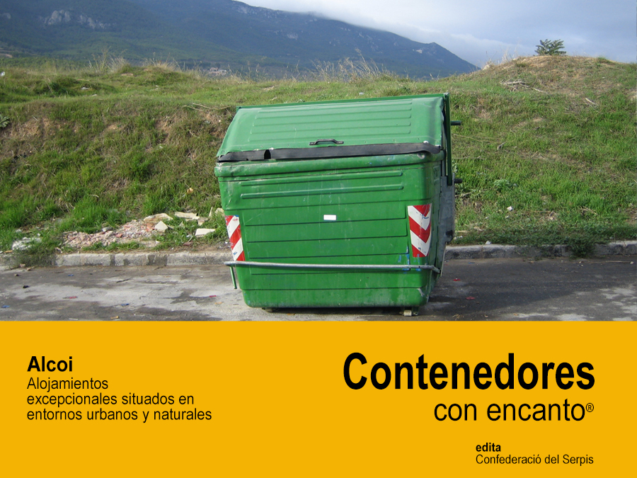 La editorial Confederació del Serpis i el Centro de Estudios Turísticos Avanzados de l'Alcoià-Comtat publicarán la guía 'Contenedores con encanto'