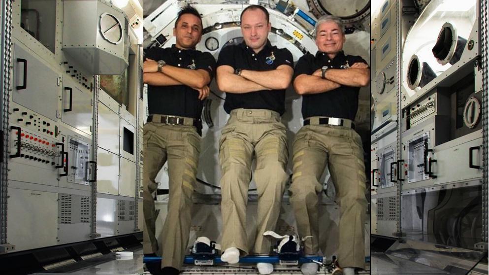 Científicos rusos han encontrado bacterias vivas de la 'alcoyania' en la superficie de la Estación Espacial Internacional