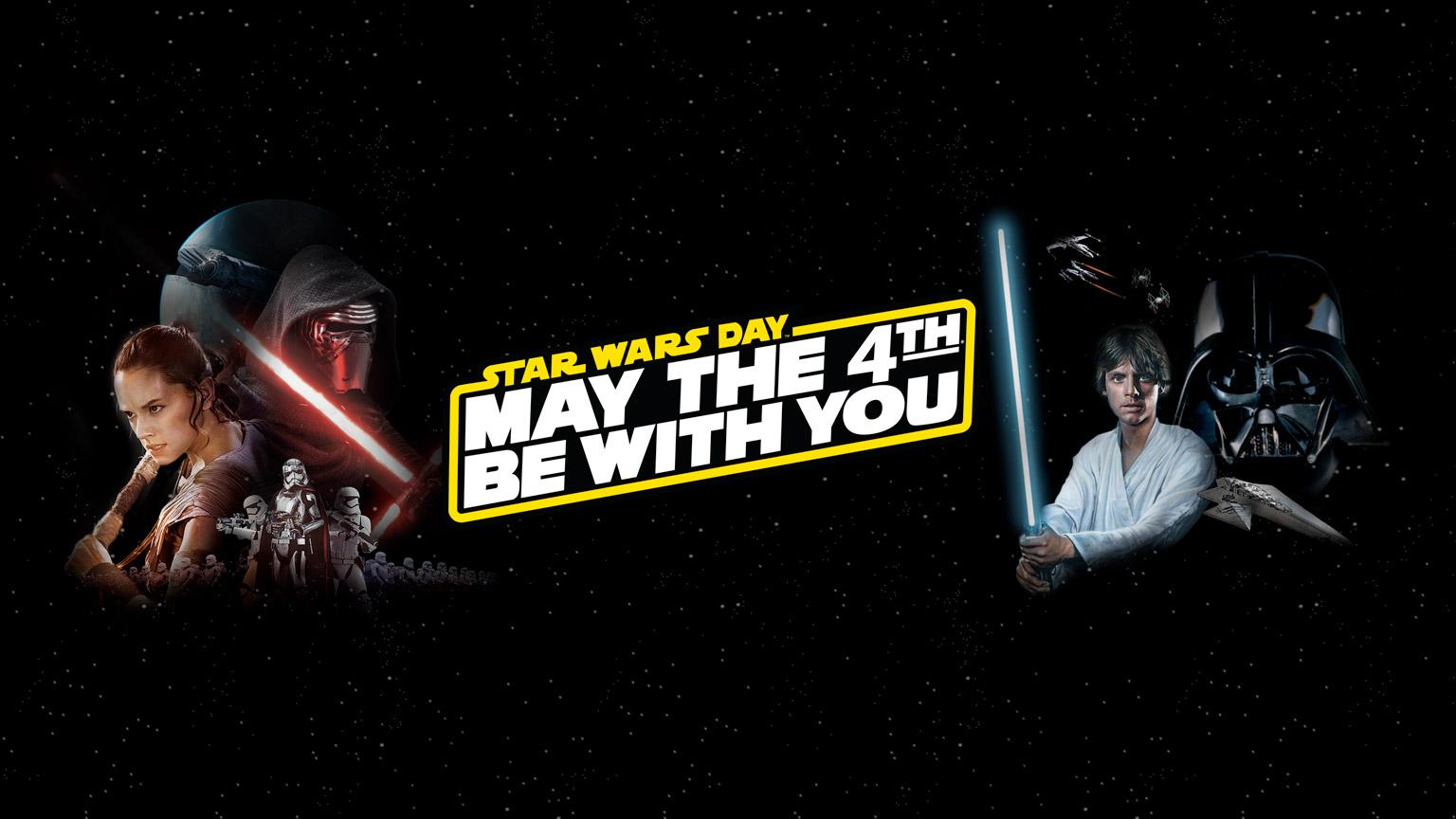 Plans per celebrar el 4 de maig, Dia Internacional de STAR WARS