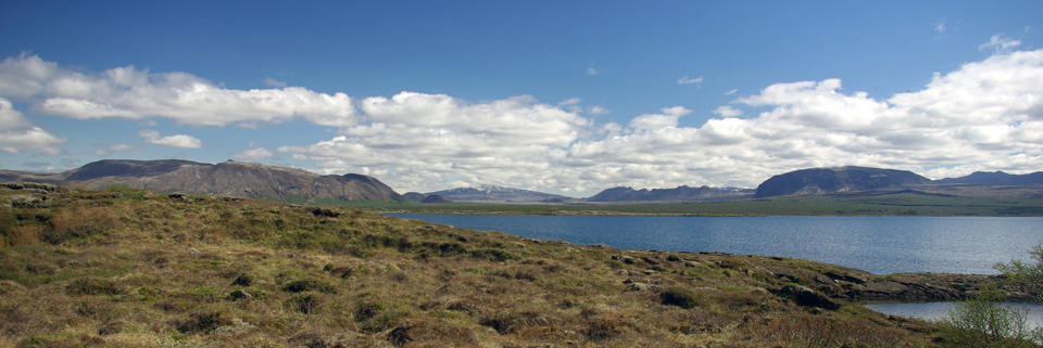 m'ha vingut al cap Þingvellir