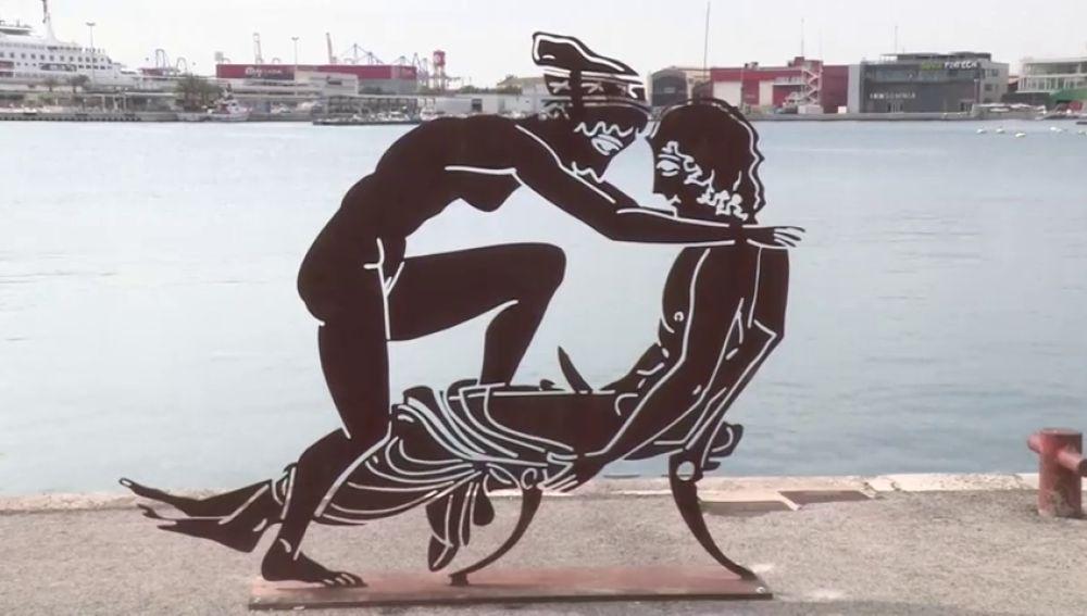 La Asociación de Damas Escandalizadas de Valencia le exige a Antoni Miró que les corte la pilila a sus esculturas de la exposición de figuras griegas