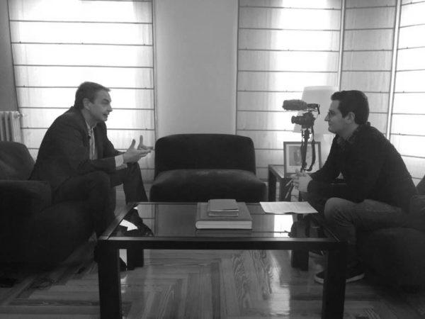El jove escriptor alcoià Jordi Ortiz Gisbert presenta a Madrid un llibre sobre la figura de Pedro Zerolo