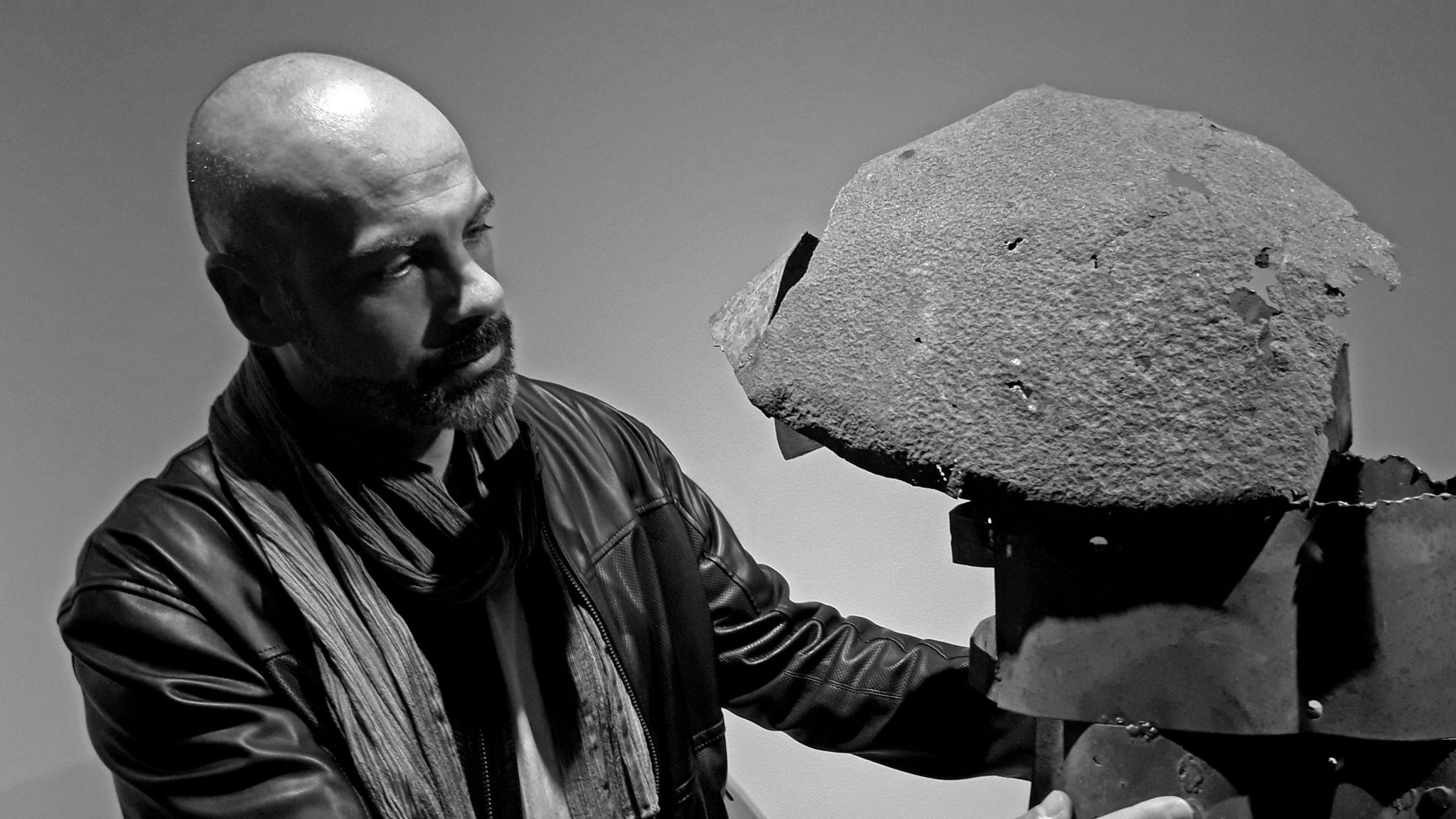 Chemi Galiano. Arte, óxido y dignidad