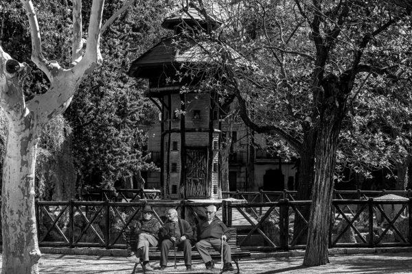 El parque ensimismado