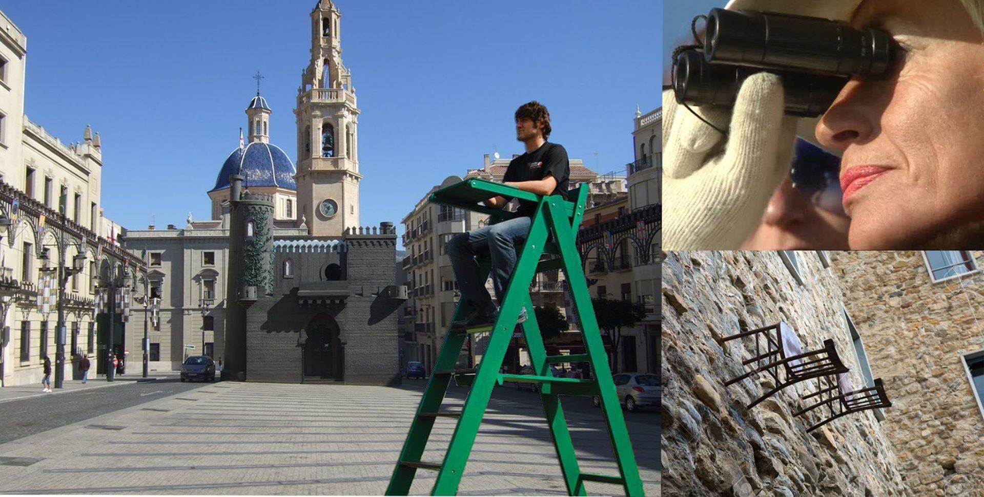 La Asociación y el Ayuntamiento buscan alternativas para aumentar la visibilidad de las sillas de la Plaza