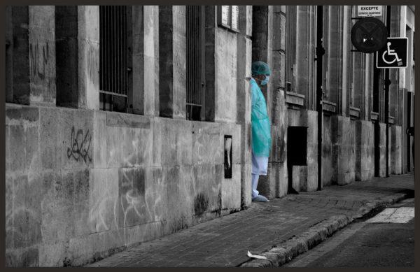 Paisajes urbanos de la primavera del coronavirus