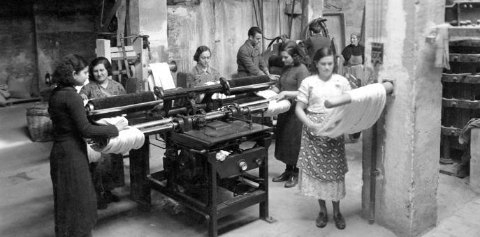Dona i Treball a Alcoi, una visió gràfica