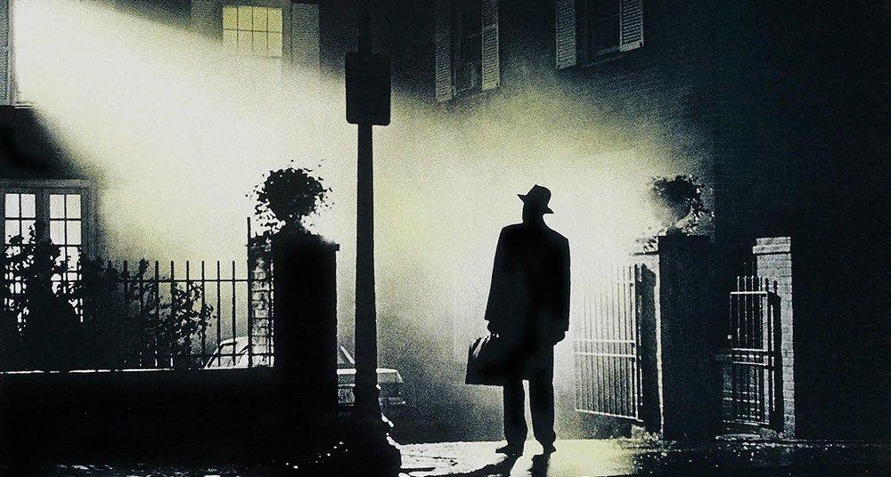 """Max von Sydow. """"L'exorcista"""""""