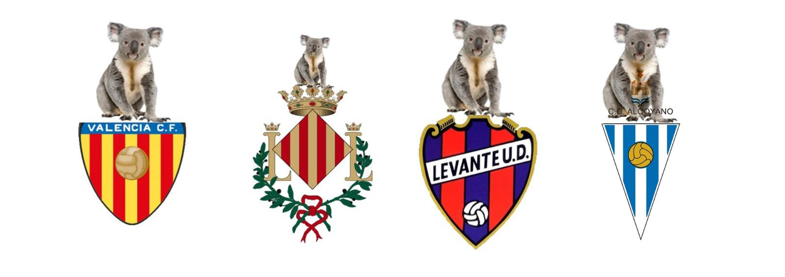 El CD Alcoyano y otros clubes de futbol valencianos retirarán los murciélagos de sus escudos para evitar posibles contagios por COVID-19