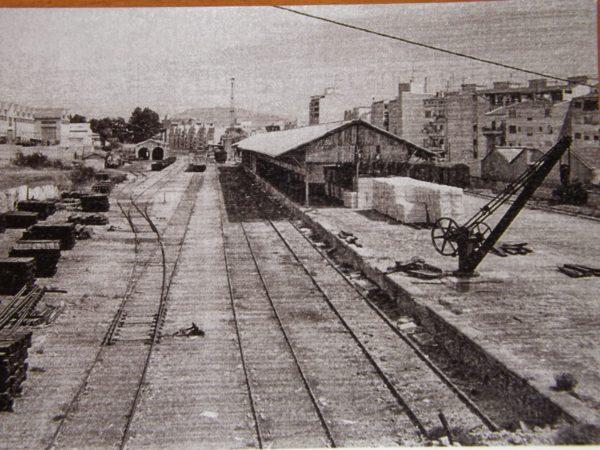L'estació del tren a València