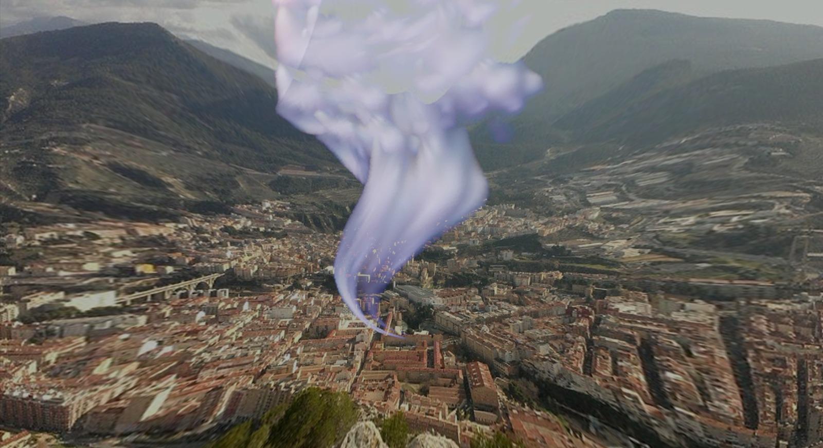 El pitido misterioso del Ensanche es un escape que revela que Alcoy se está desinflando