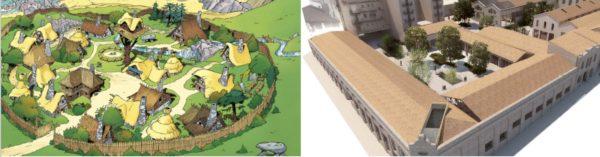 Denuncian que el Ayuntamiento se ha copiado el proyecto de Rodes de un tebeo de Astérix