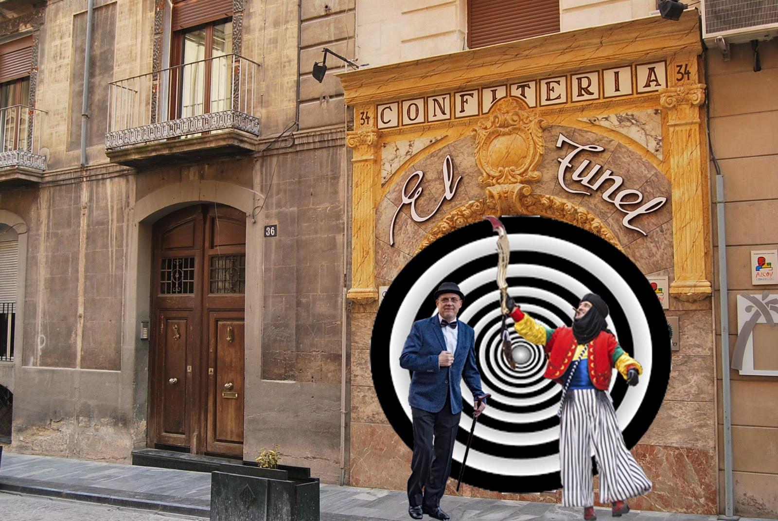 La Regidoria de Turisme està construint un túnel del temps al carrer Sant Llorenç