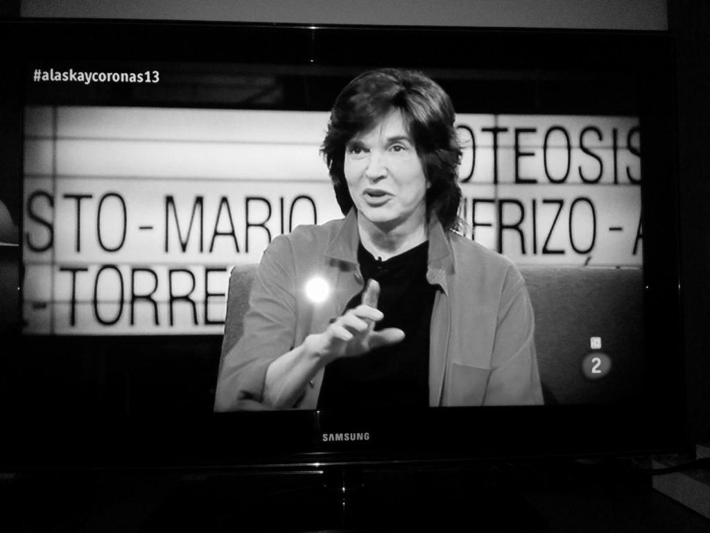 Camilo Sesto en el programa de 'Alaska y Coronas'
