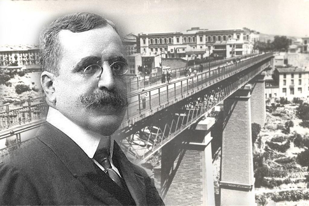 Canalejas inaugura el seu viaducte. Crònica d'una crònica