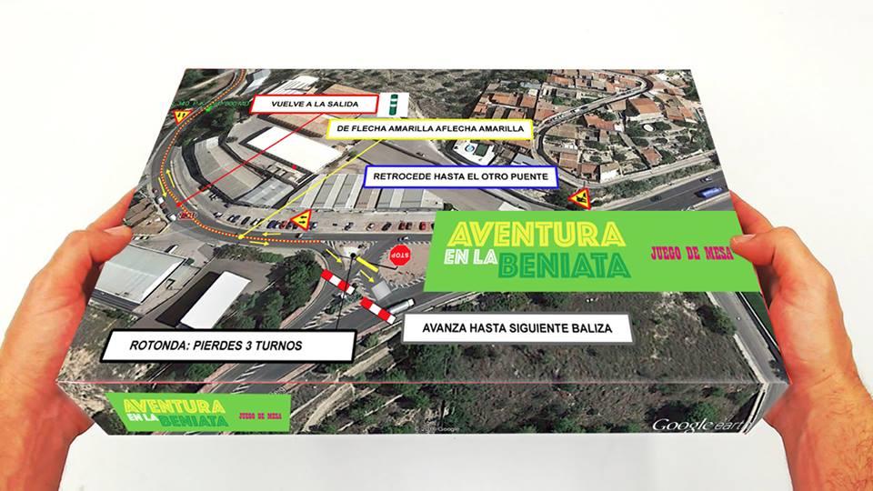 A partir del próximo lunes el Ayuntamiento regalará a todos los usuarios de vehículos el juego de mesa 'Aventura en la Beniata'