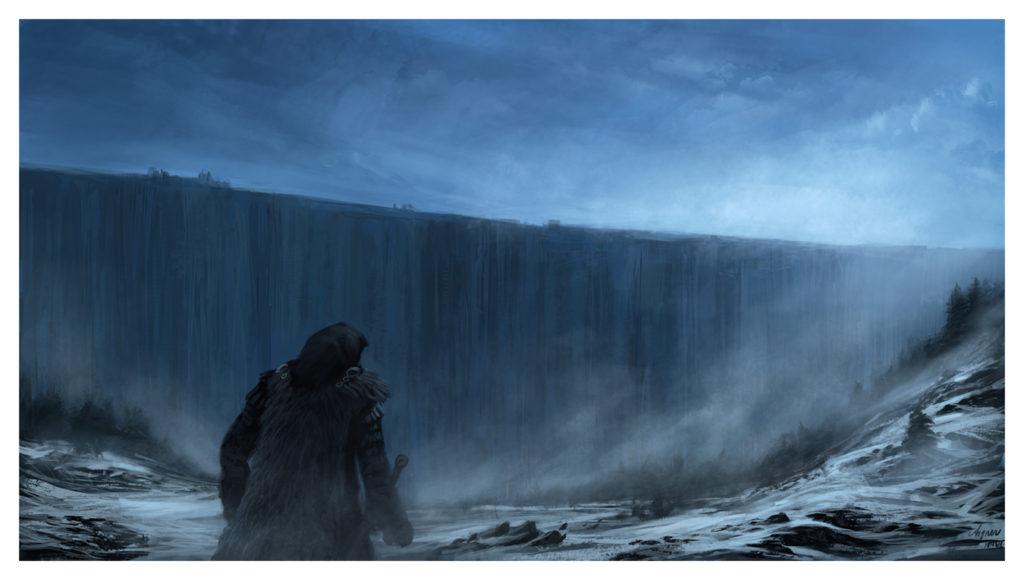 Els caminants i el mur