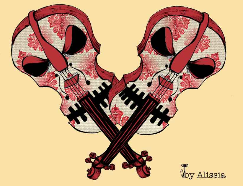 El violinista y la madre que lo parió