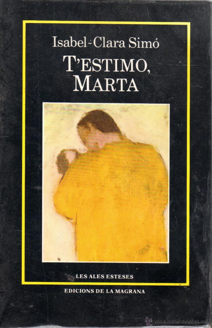 T'estimo, Marta